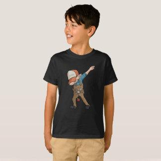 Camiseta T-shirt da dança de Dabber do canalizador