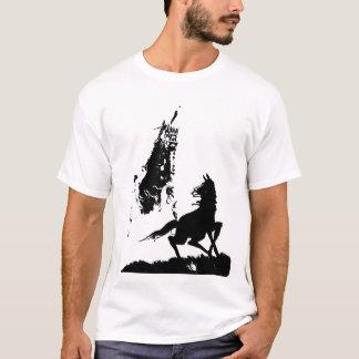 Camiseta T-shirt da dança do cavalo