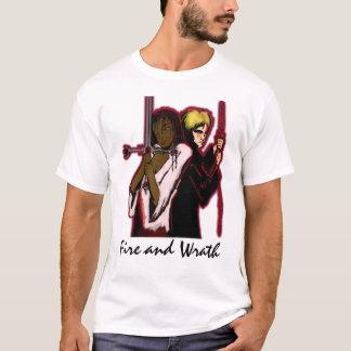 Camiseta T-shirt da divisa do feiticeiro e do guerreiro