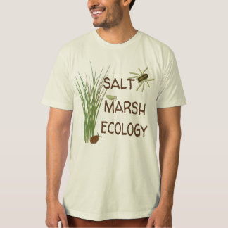 Camiseta T-shirt da ecologia do pântano de sal - natural
