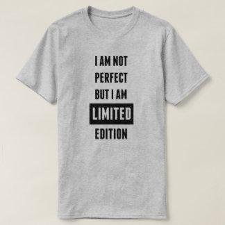 Camiseta T-shirt da edição limitada dos homens
