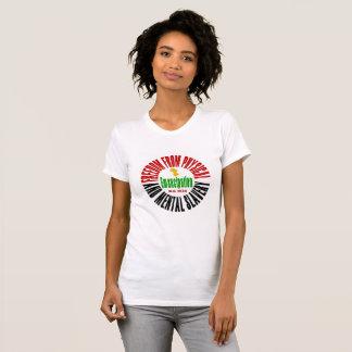 Camiseta T-shirt da emancipação