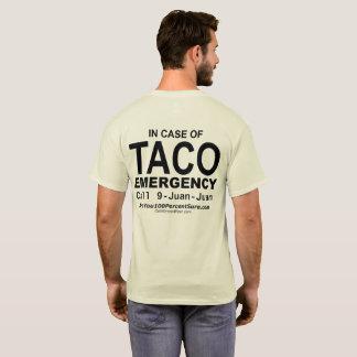 Camiseta T-shirt da emergência do Taco (para lite BG)