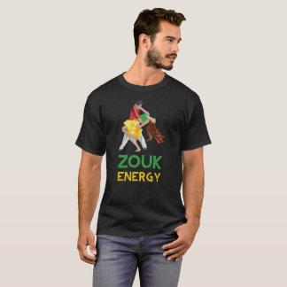 Camiseta T-shirt da energia de Zouk