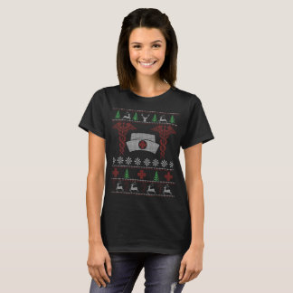 Camiseta T-shirt da enfermeira do Natal