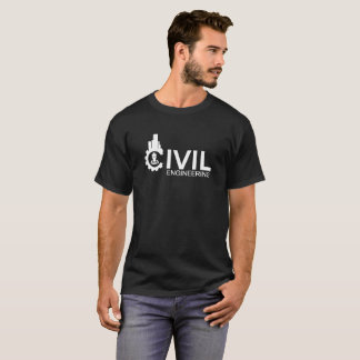 Camiseta T-shirt da engenharia civil