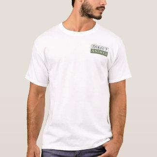 Camiseta T-shirt da equipe da resposta direta
