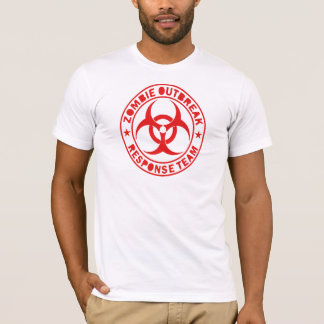 Camiseta T-shirt da equipe da resposta do apocalipse do