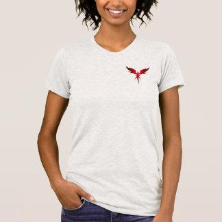 Camiseta T-shirt da equipe de FOGO de IMVU (fêmea)