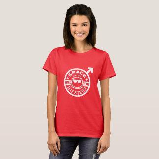 Camiseta T-shirt da equipe de Hipsters® Marte do espaço das