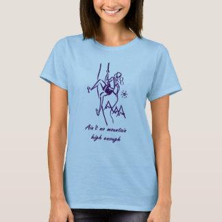 Camiseta T-shirt da escalada