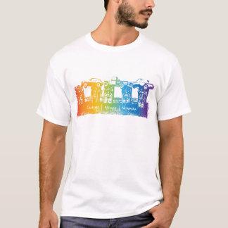 Camiseta T-shirt da escultura do carro de Carhenge Nebraska