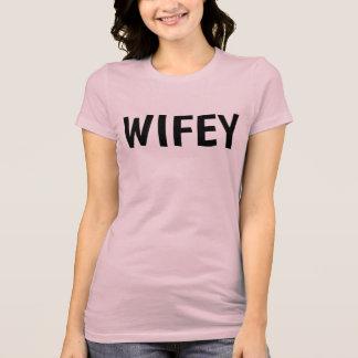 Camiseta T-shirt da ESPOSA de WIFEY