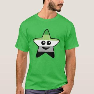 Camiseta T-shirt da estrela de Aromantic