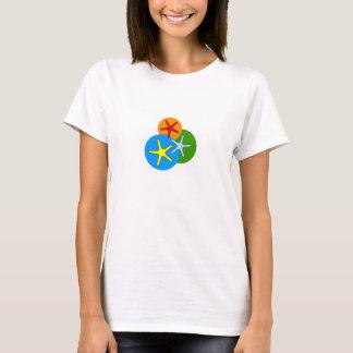 Camiseta T-shirt da estrela de mar