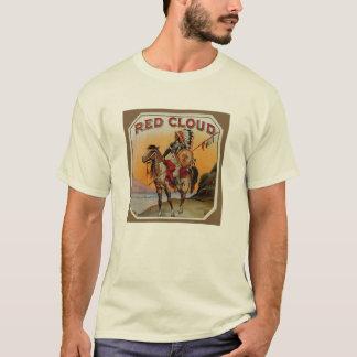 Camiseta T-shirt da etiqueta do charuto do vintage