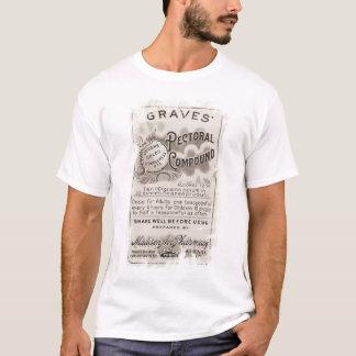 Camiseta T-shirt da etiqueta do ópio para o Dia das Bruxas