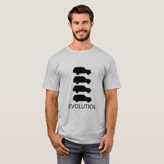 Camiseta T-shirt da evolução de Range Rover