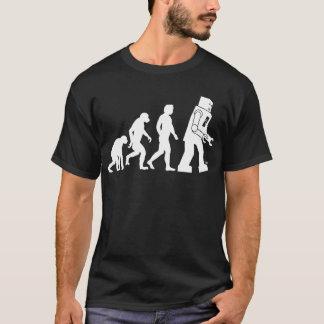 Camiseta T-shirt da evolução do robô