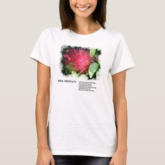 Camiseta T-shirt da faculdade criadora da alma