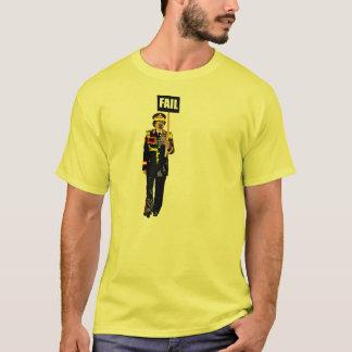 Camiseta T-shirt da FALHA de Gaddafi