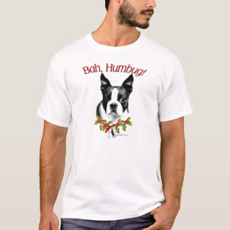 Camiseta T-shirt da farsa de Boston Terrier Bah