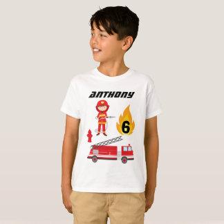 Camiseta T-shirt da festa de aniversário do carro de