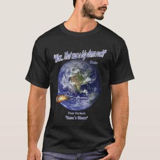 Camiseta T-shirt da ficção científica do por uma unha negra