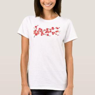 Camiseta T-shirt da flor de cerejeira