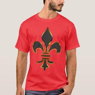 Camiseta T-shirt da flor de lis