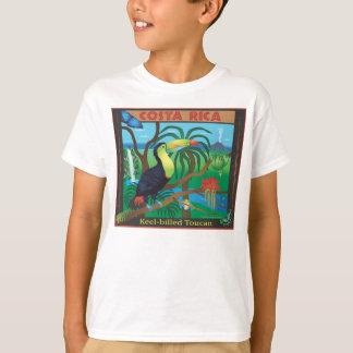 Camiseta T-shirt da floresta húmida de Costa Rica Toucan