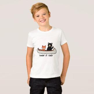 Camiseta T-shirt da floresta, Takin ele fácil