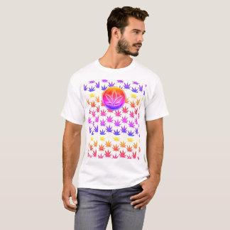 Camiseta T-shirt da folha do pote