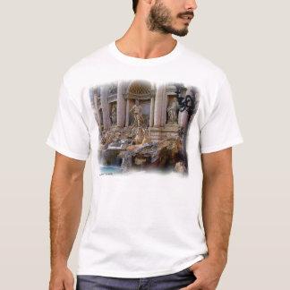 Camiseta T-shirt da fonte do Trevi