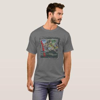 Camiseta T-shirt da foto do Condado de Pickens