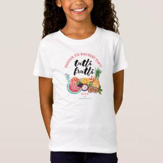 Camiseta T-shirt da fruta | da festa de aniversário | Tutti