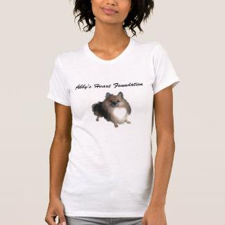 Camiseta T-shirt da fundação do coração de Abby