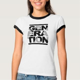 Camiseta T-shirt da geração X