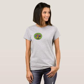 Camiseta T-shirt da geração X das mulheres