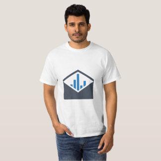 Camiseta T-shirt da gestão do email