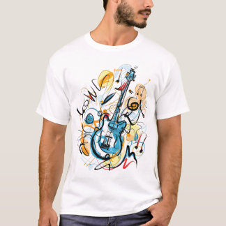 CAMISETA T-SHIRT DA GUITARRA