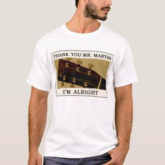 Camiseta T-shirt da guitarra do Bluegrass - obrigado Sr.