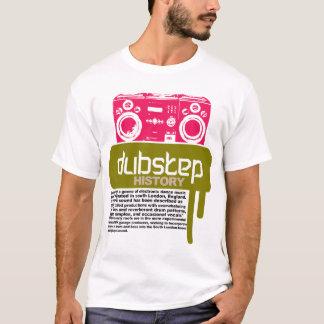 Camiseta T-shirt da história de Dubstep (NOVO)