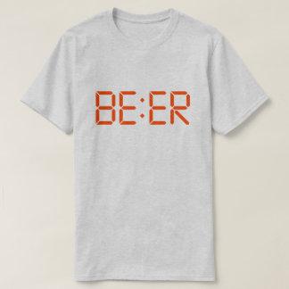Camiseta T-shirt da hora da CERVEJA