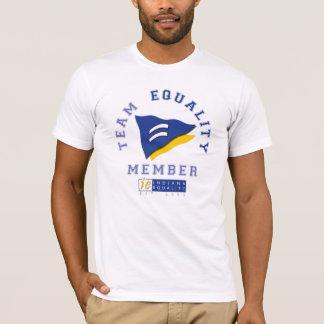 Camiseta T-shirt da igualdade de Indiana da equipe!
