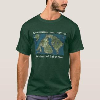 Camiseta T-shirt da ilha das orcas