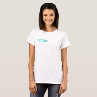 Camiseta T-shirt da ilha do açúcar para mulheres