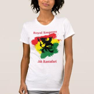 Camiseta T-shirt da imperatriz de Rasta