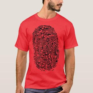 Camiseta T-shirt da impressão digital
