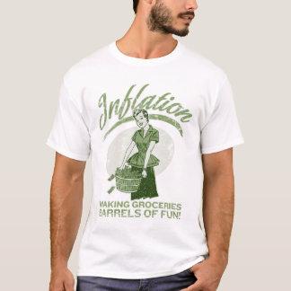 Camiseta T-shirt da inflação